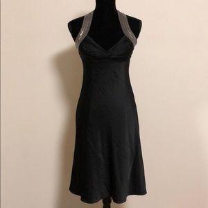Calvin Klein black sequins dress size 8p